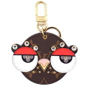 Lovely Bird Owl Crystals Lv Key Ring Chain
